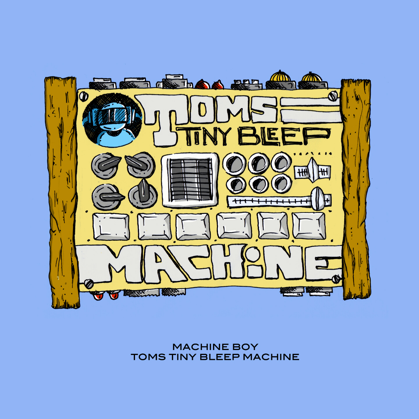Machine Boy Toms Tiny Bleep Machine